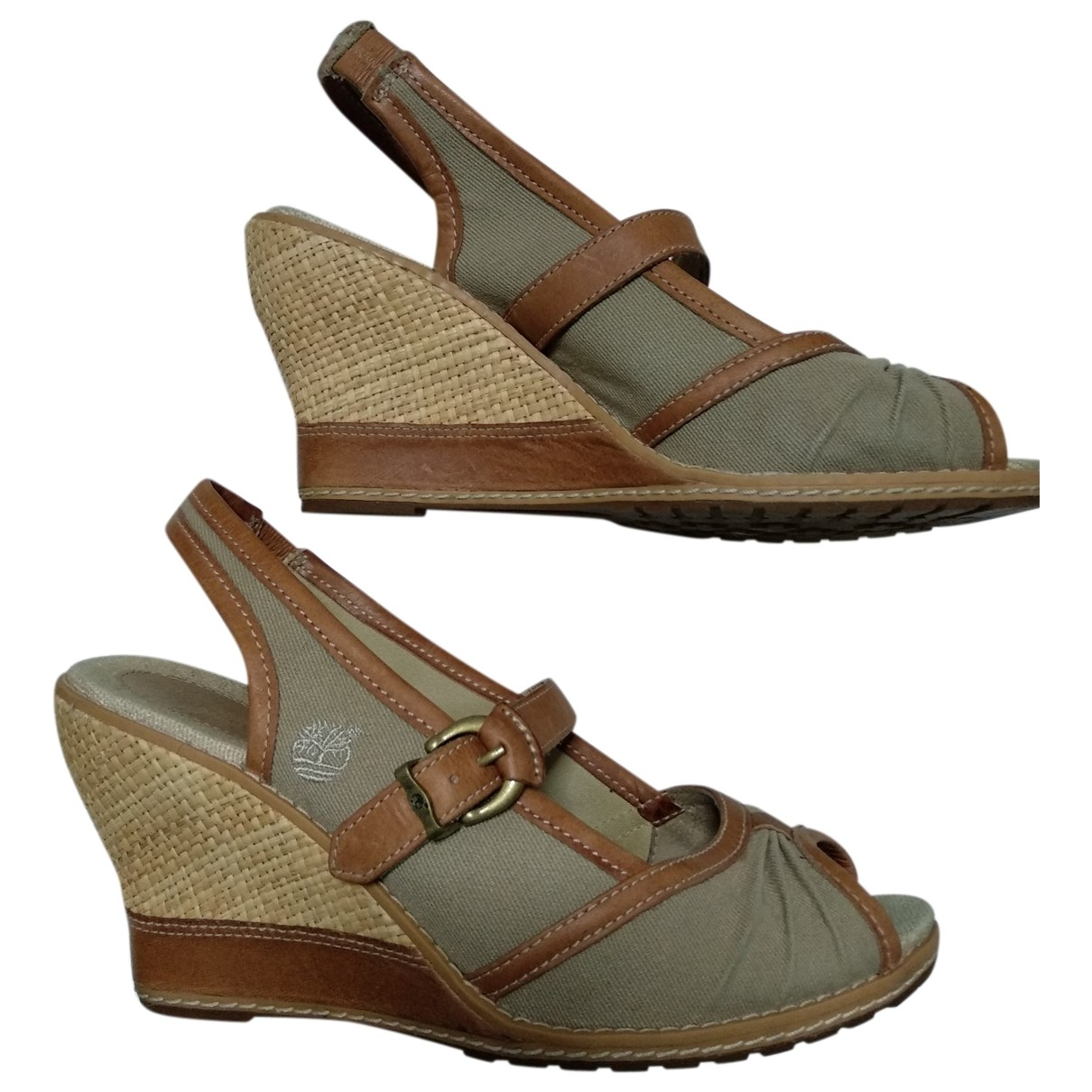 Timberland \N Camel Leather Sandals for Women 39 EU