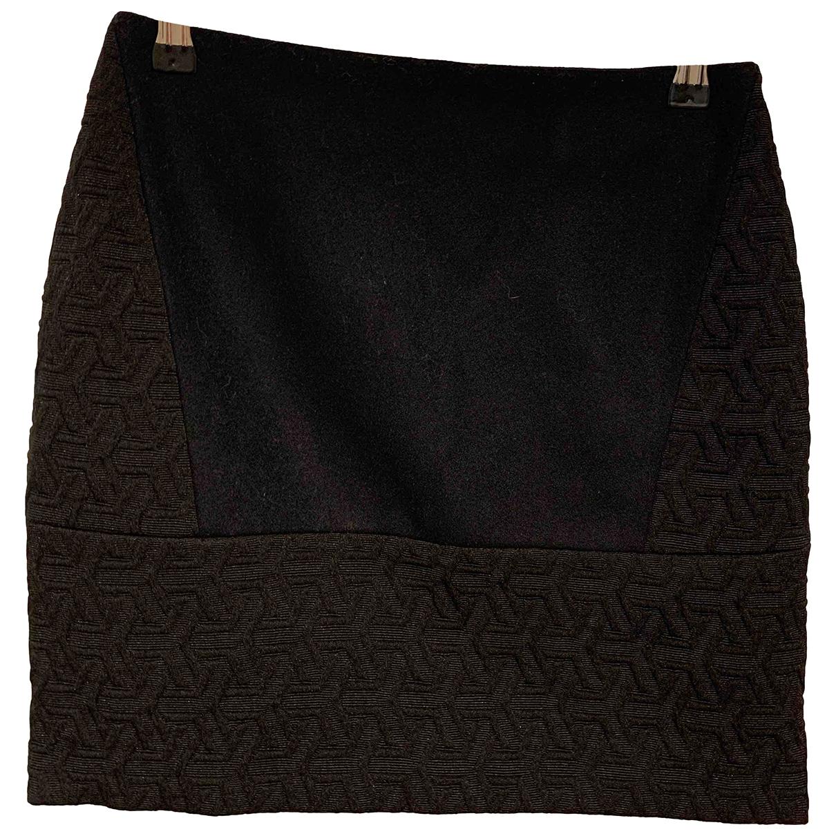 Sandro \N Black Cotton skirt for Women 6 UK