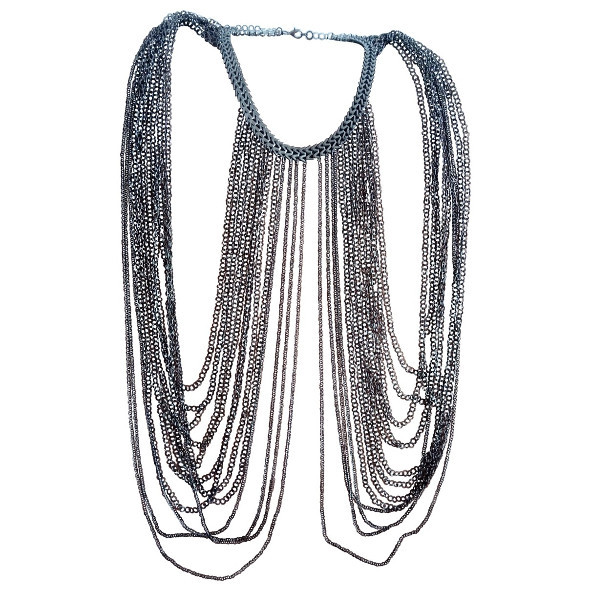 Non Signé / Unsigned \N Metal Jewellery set for Women \N