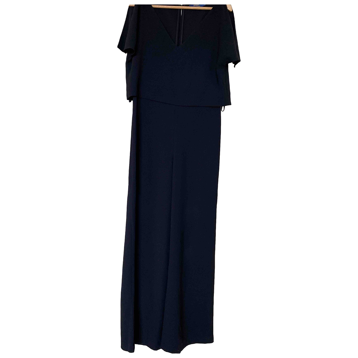 Polo Ralph Lauren \N Black Cotton jumpsuit for Women 4 US