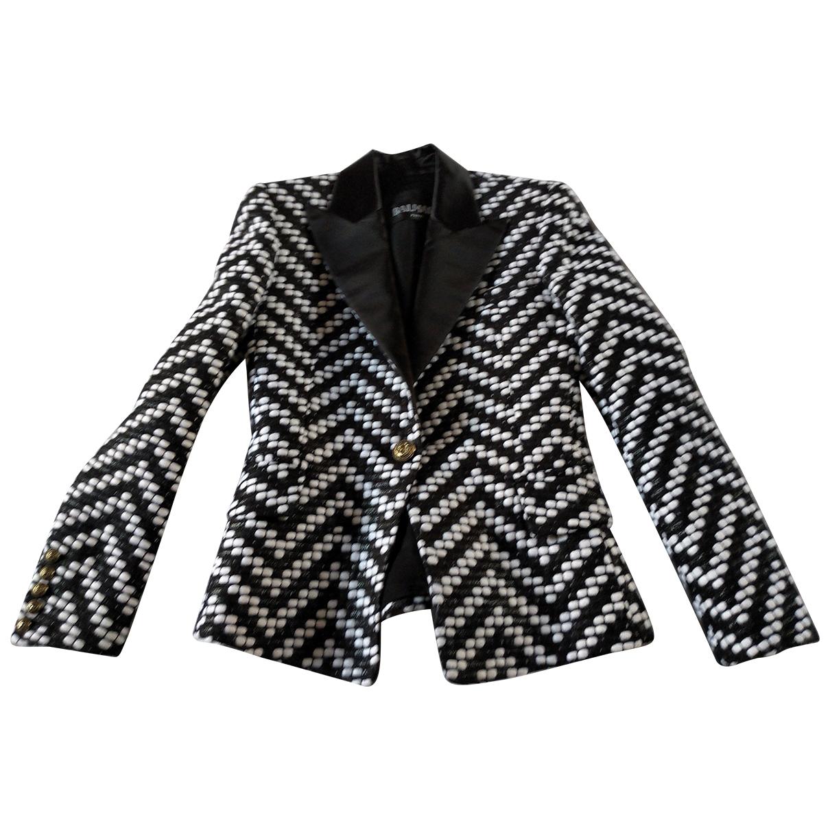 Balmain \N Multicolour Wool jacket for Women 38 FR