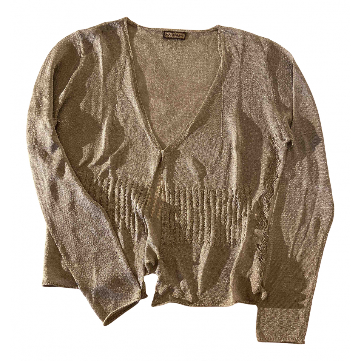 Maliparmi \N Beige Knitwear for Women S International