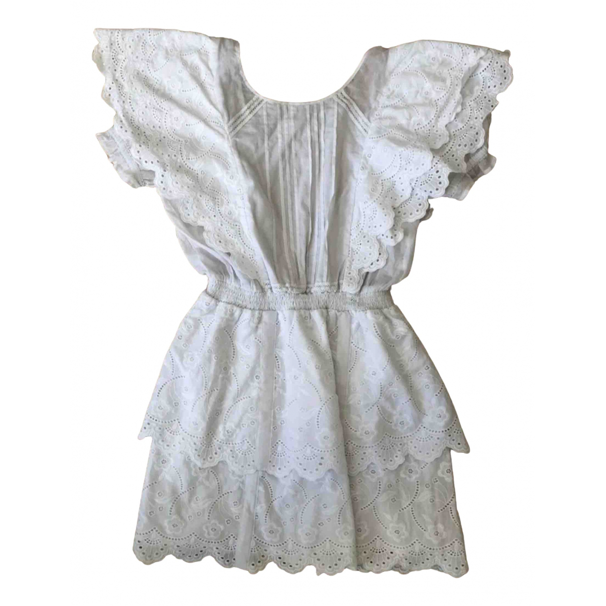 Sir The Label \N White Cotton dress for Women 34 FR