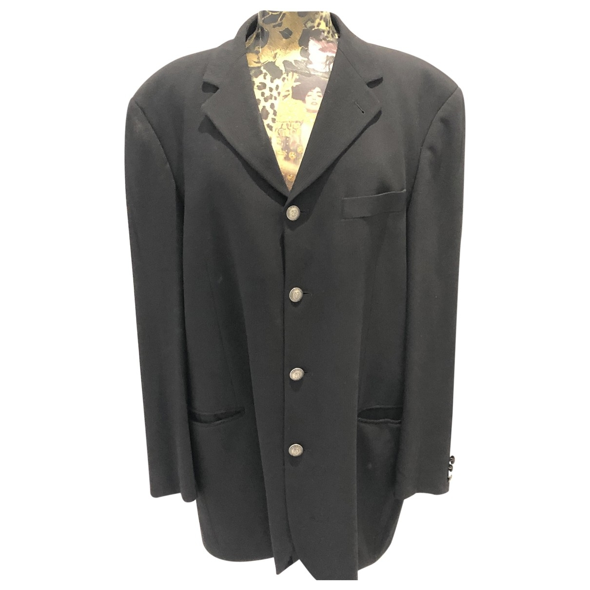 Boss \N Black Wool jacket  for Men 52 FR