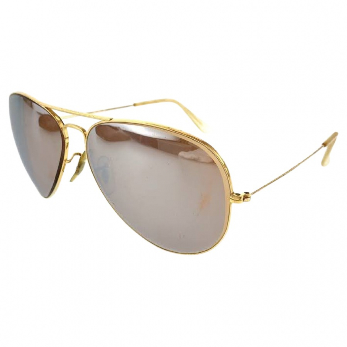 Ray-ban \N Gold Metal Sunglasses for Men \N