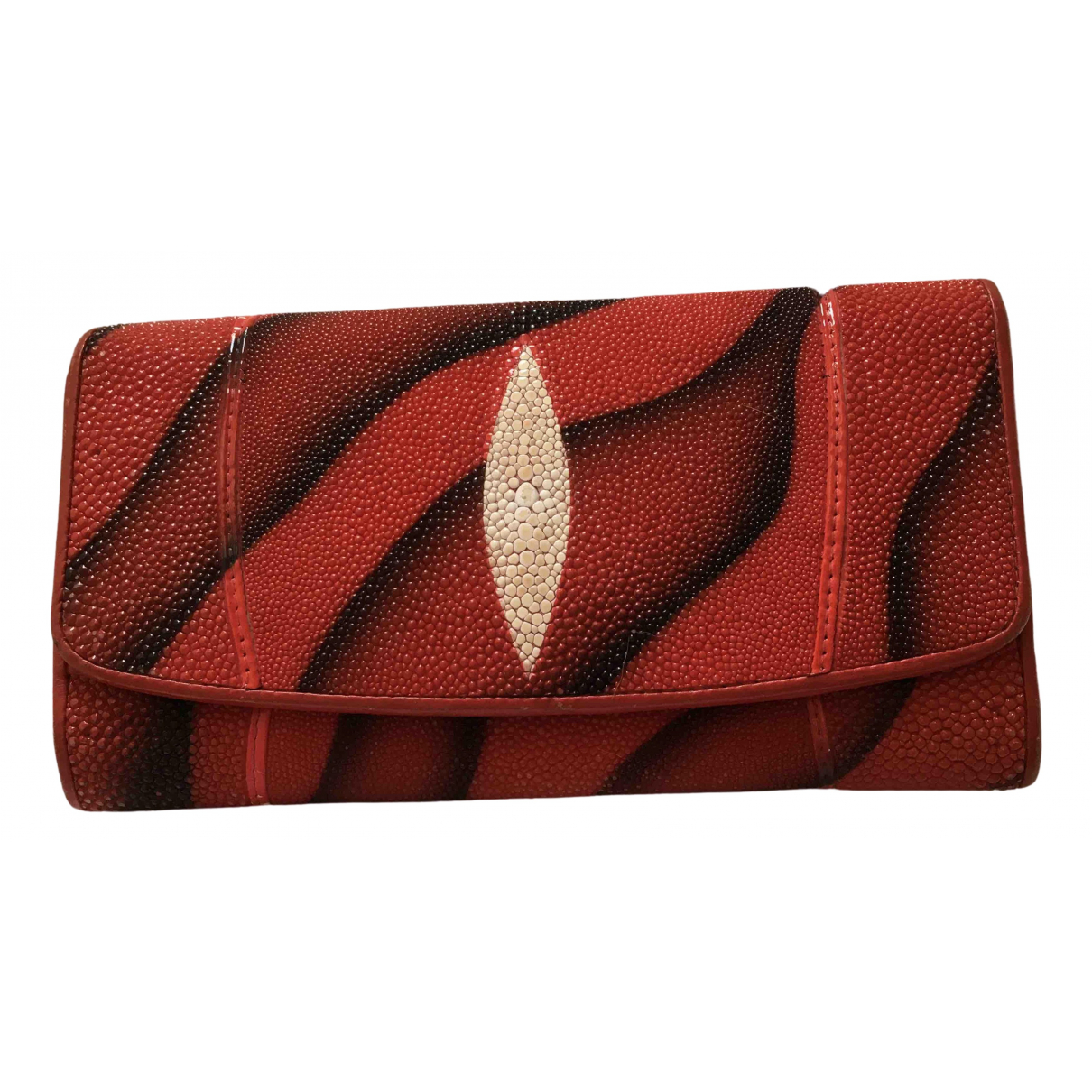 Non Signé / Unsigned \N Red Purses, wallet & cases for Women \N