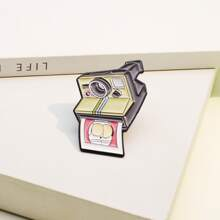 Camera Design Brooch