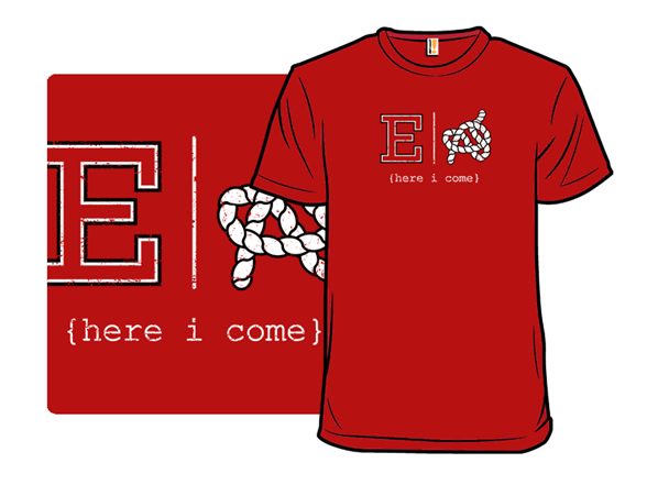 Red E Or Knot T Shirt