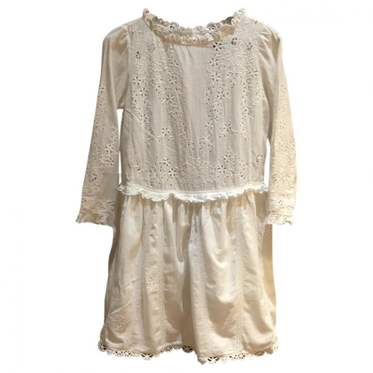 Zadig & Voltaire \N White Cotton dress for Women S International
