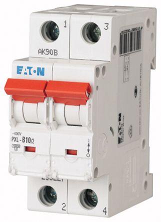 Eaton xPole 10 A MCB Mini Circuit Breaker, 2P Curve C