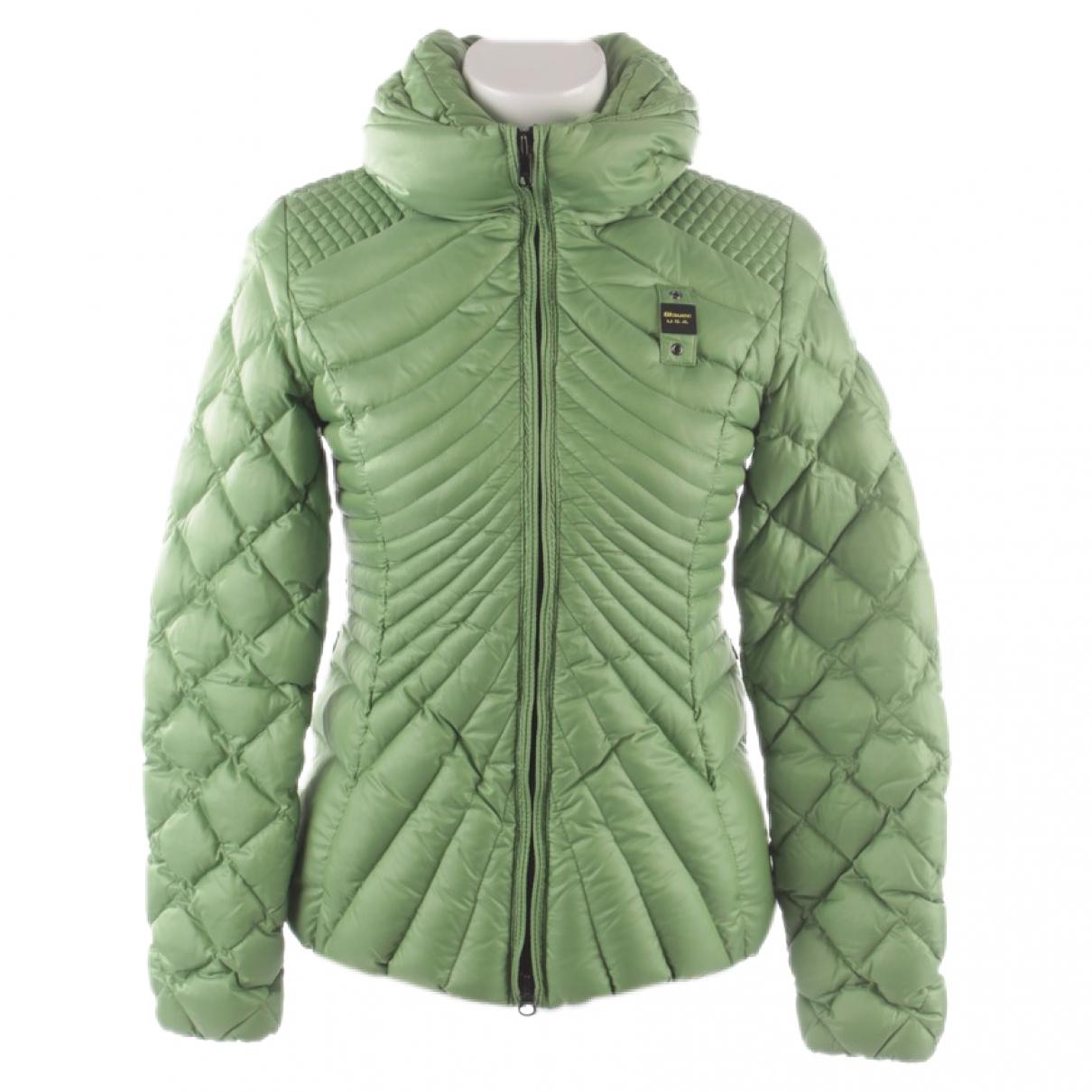 Blauer \N Green Cotton jacket for Women S International