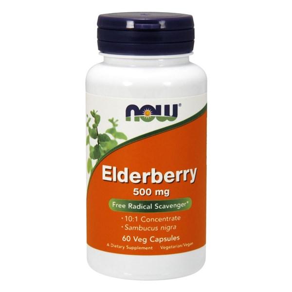 Elderberry 60 Veg Caps by Now Foods