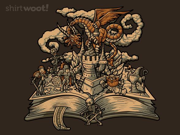 Ancient Tale T Shirt