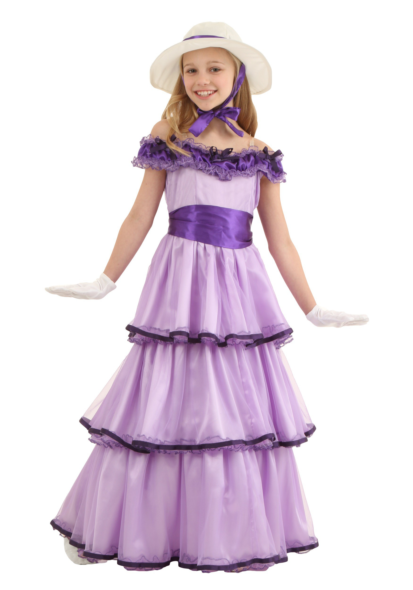 Child Deluxe Southern Belle Costume For Girls