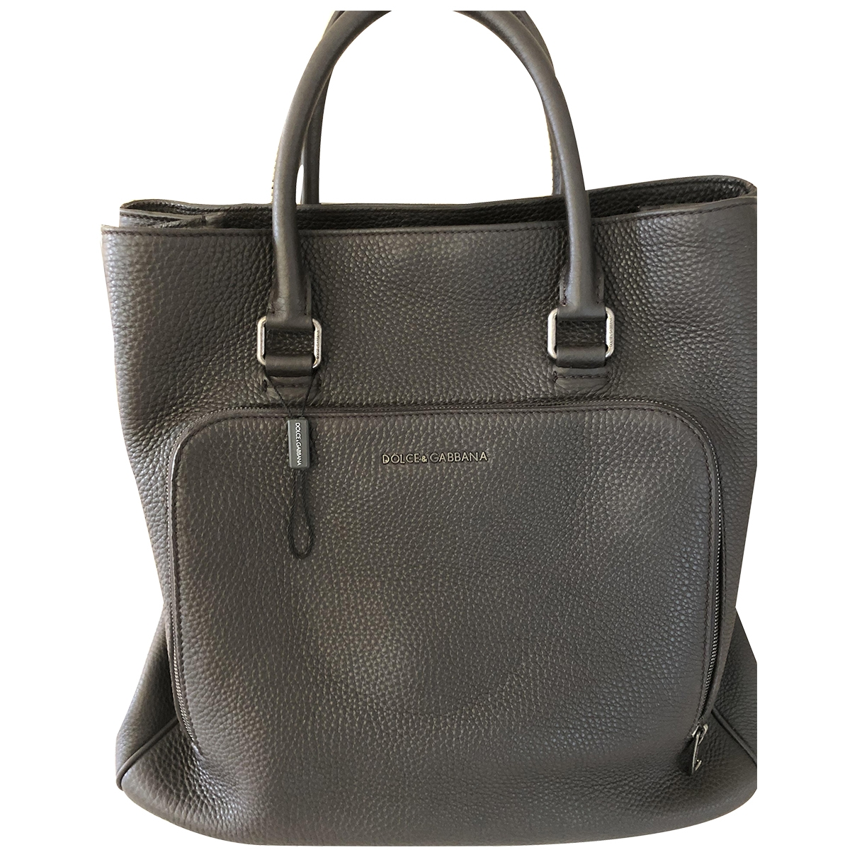 Dolce & Gabbana \N Brown Leather bag for Men \N