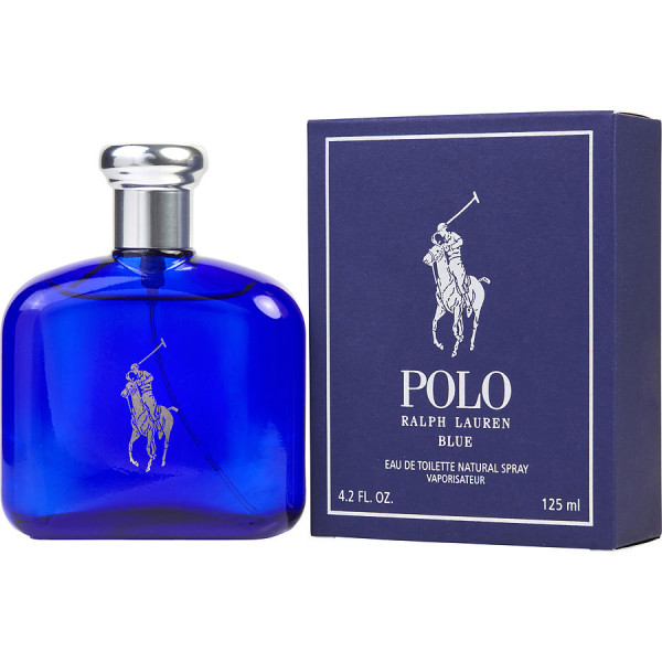 Ralph Lauren - Polo Blue : Eau de Toilette Spray 4.2 Oz / 125 ml