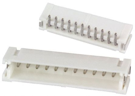 JST , ZH, 11 Way, 1 Row, Top Entry PCB Header (10)