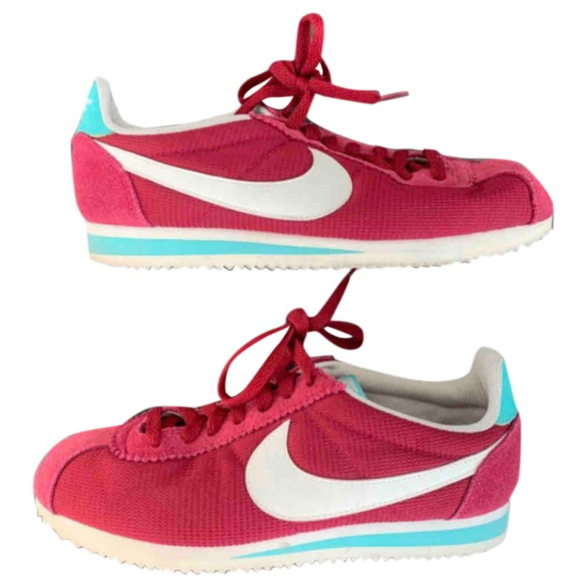 Nike Cortez Red Suede Trainers for Women 40 EU