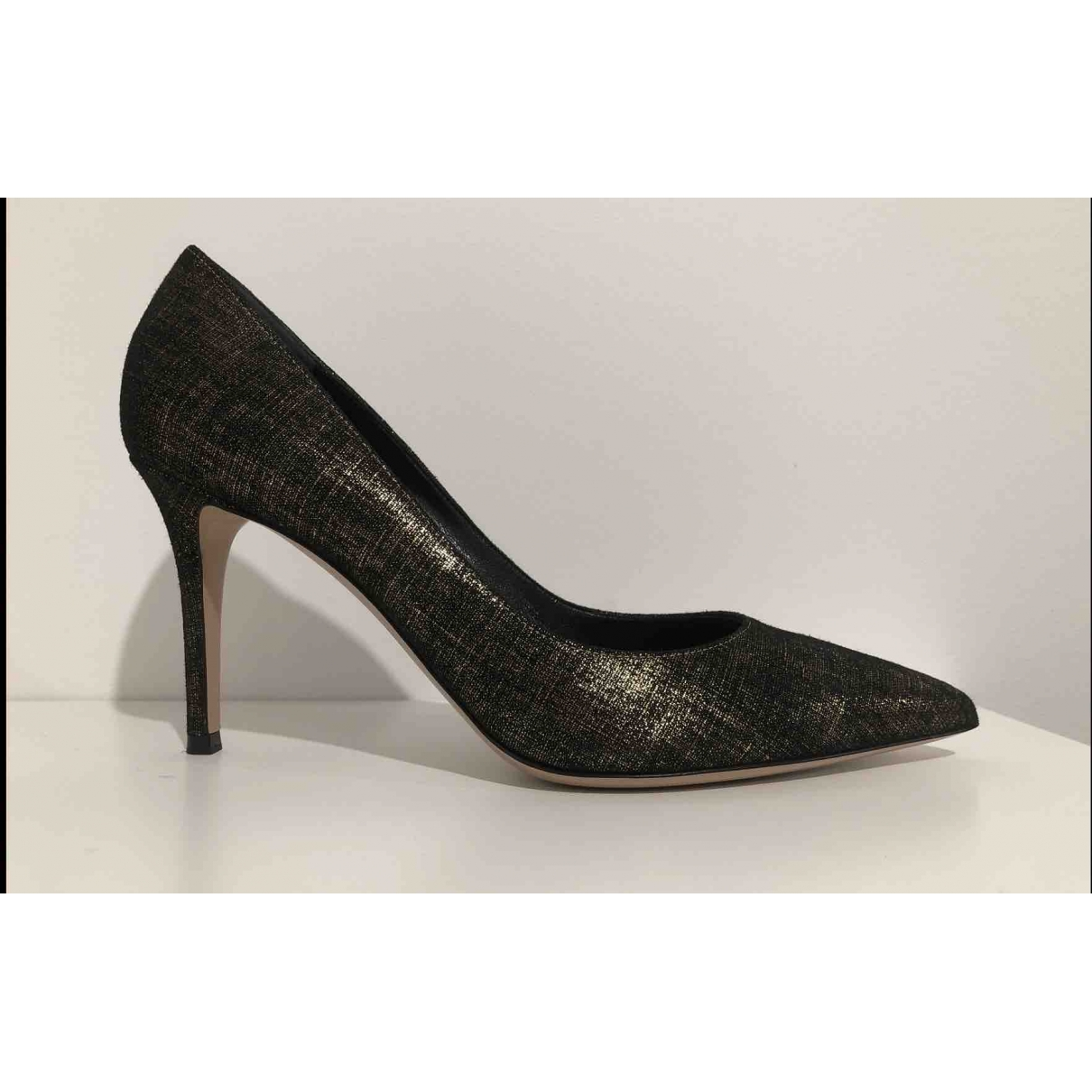 Gianvito Rossi Gianvito Black Suede Heels for Women 40 EU