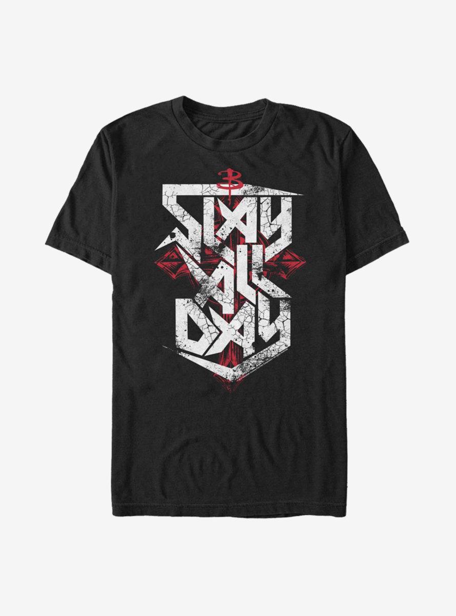 Buffy The Vampire Slayer Slay All Day T-Shirt