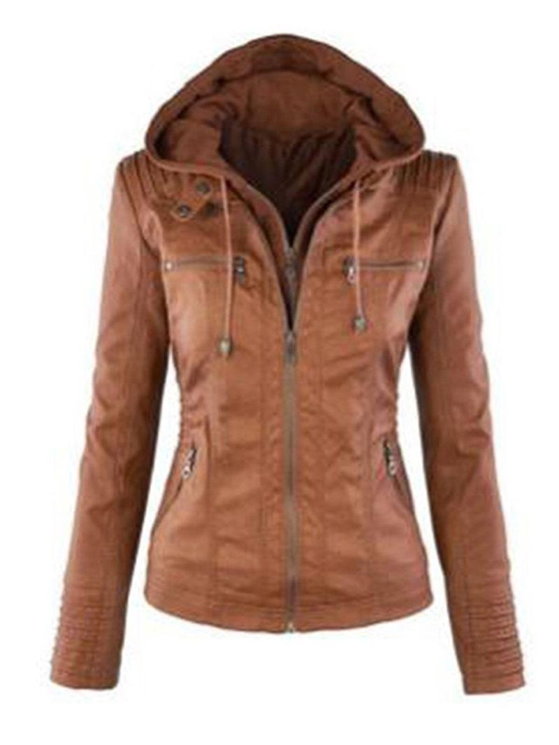 Ericdress Long Sleeve Slim Standard Jacket