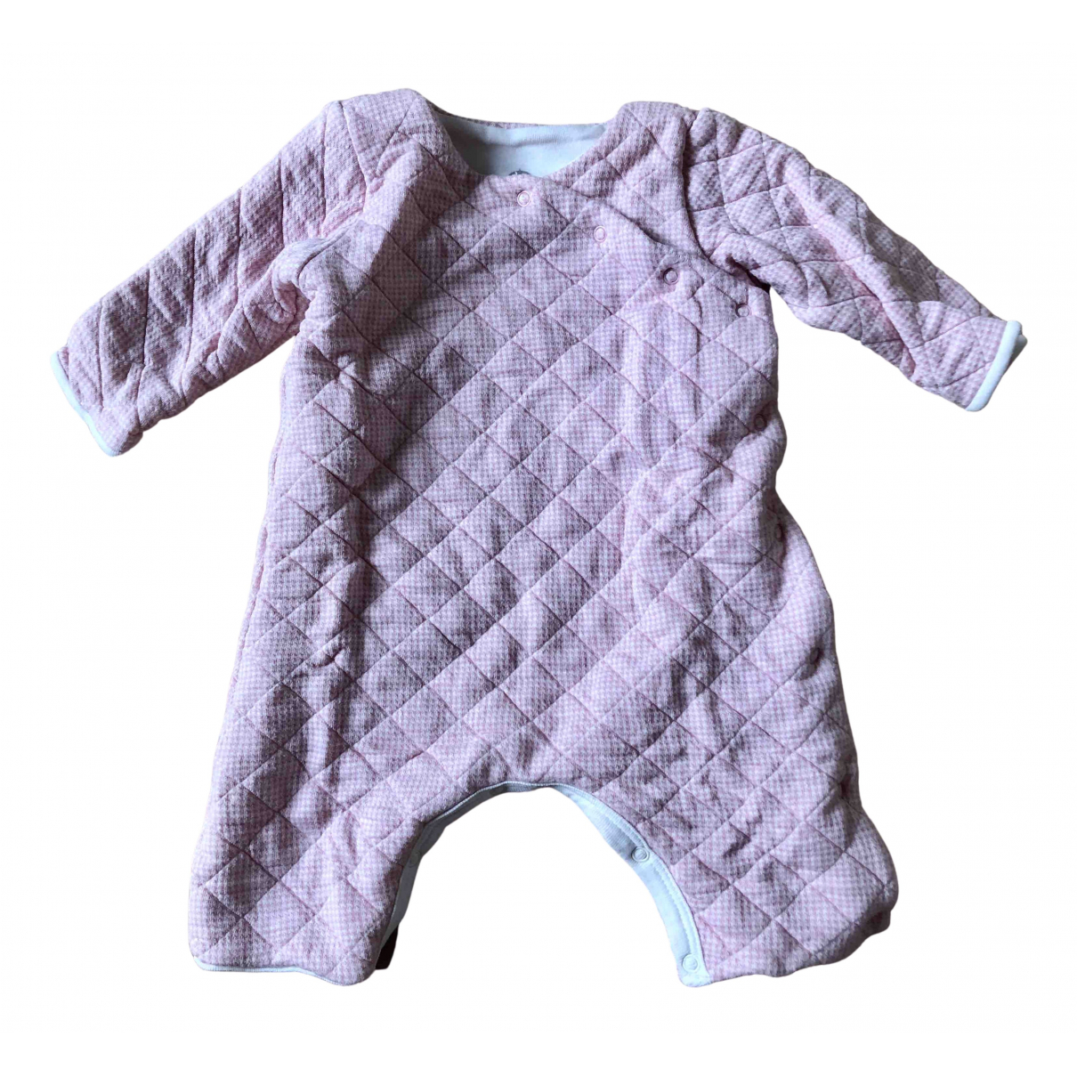 Petit Bateau \N Pink Cotton Outfits for Kids 1 months - up to 55cm FR