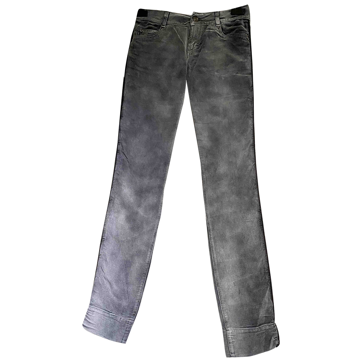 Just Cavalli \N Grey Cotton Jeans for Women 26 US