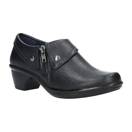 Easy Street Womens Darcy Slip-On Shoe, 11 Medium, Blue