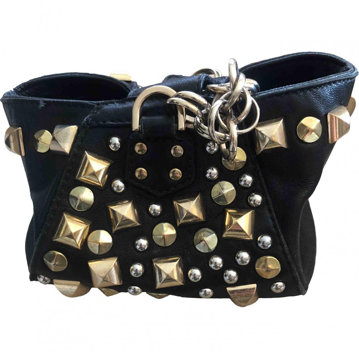 Versace X H&m \N Black Leather Clutch bag for Women \N