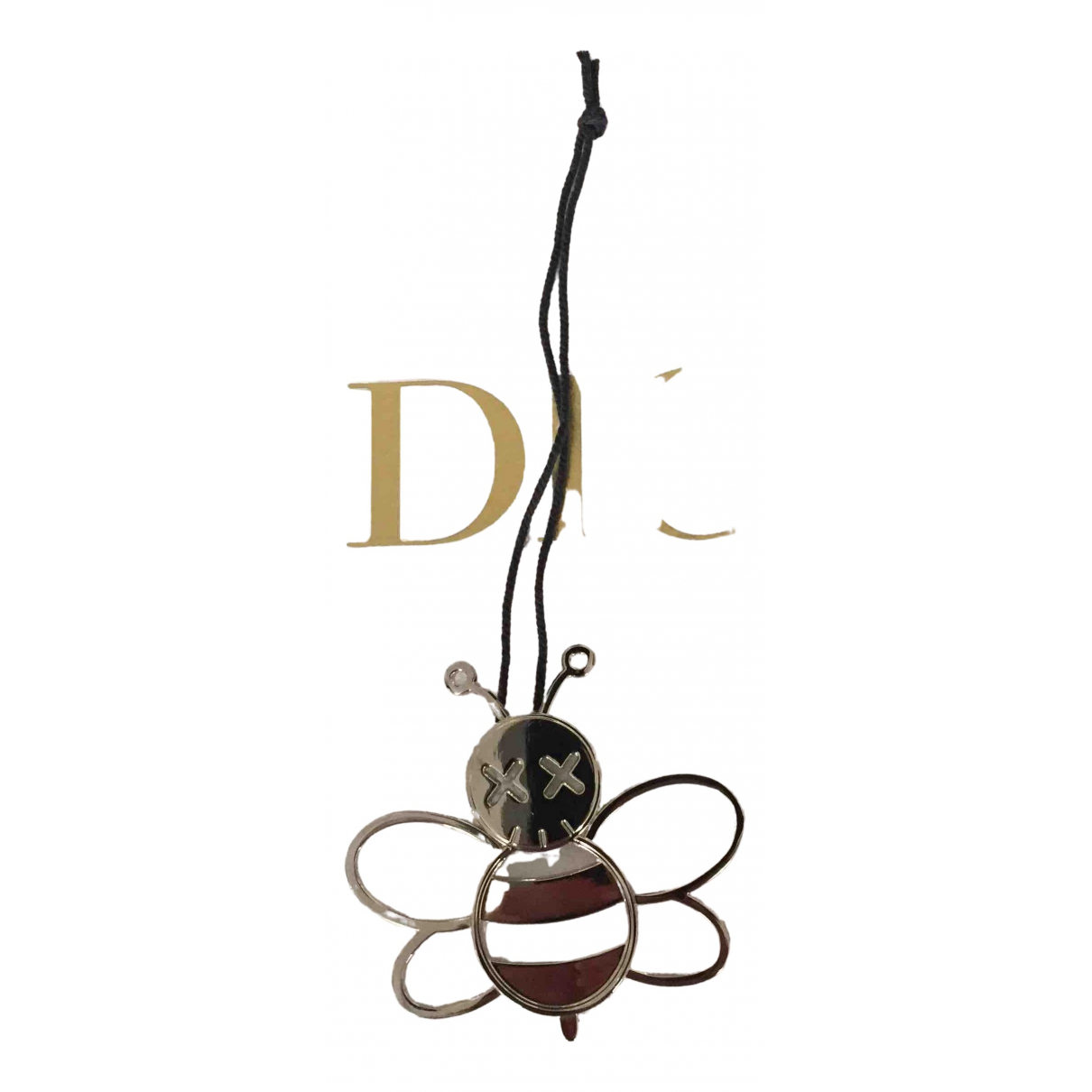 Dior \N Metallic Metal Bag charms for Women \N