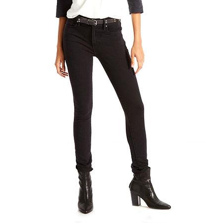 Levi's 721 High Rise Skinny Jeans, 34 , Black
