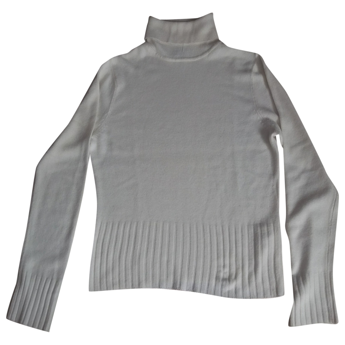 Non Signé / Unsigned \N White Knitwear for Women S International