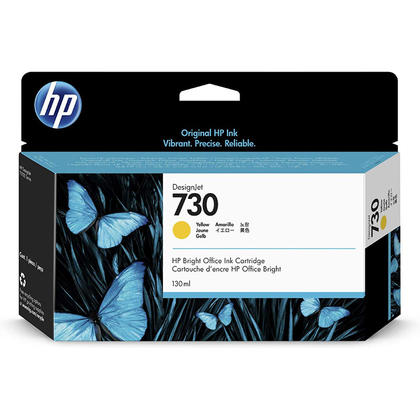 HP 730 P2V64A Original Yellow Ink Cartridge 130ml