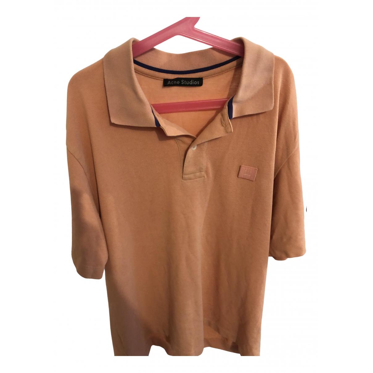 Acne Studios \N Beige Polo shirts for Men M International