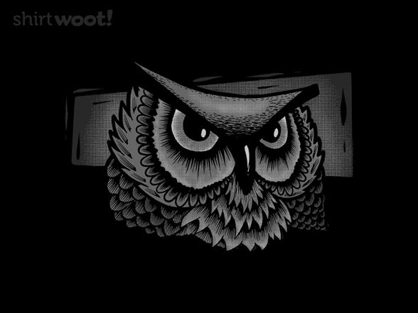 Monochrome Owl T Shirt