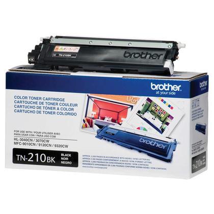 Brother TN-210BK Original Black Toner Cartridge