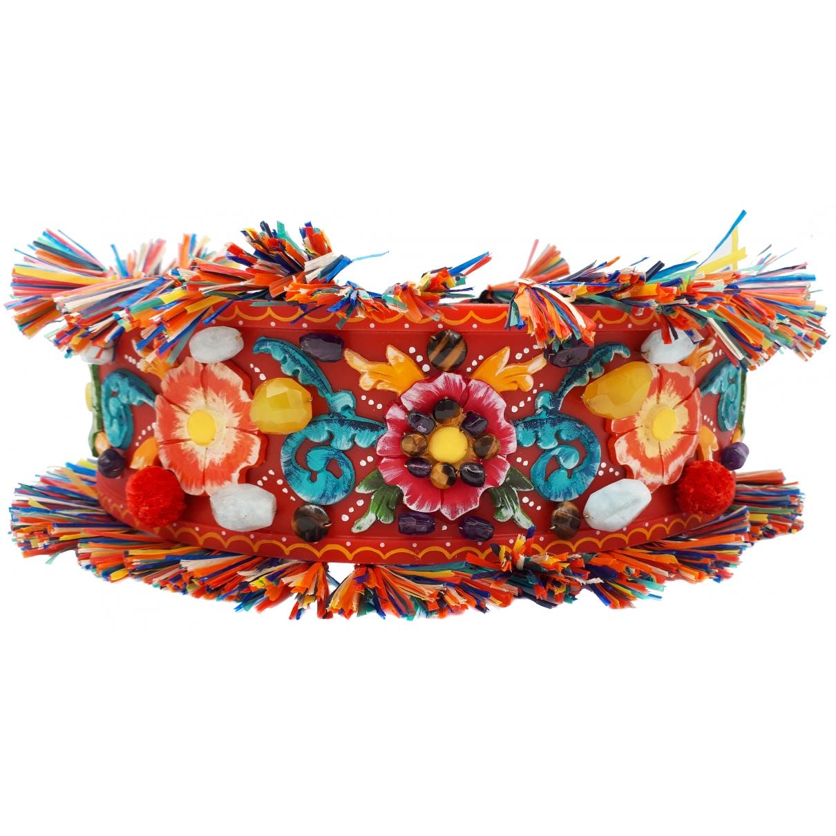 Dolce & Gabbana \N Multicolour belt for Women 75 cm