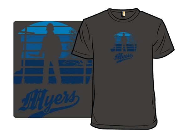 Horror Sunset: Myers T Shirt