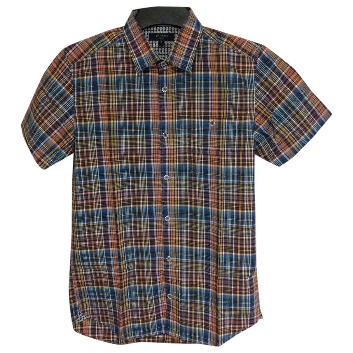 Ted Baker \N Multicolour Cotton Shirts for Men S International