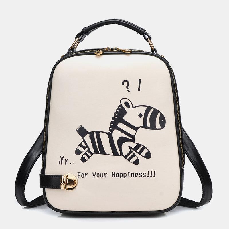 Women Crossbody Bag Cat Pattern Handbag