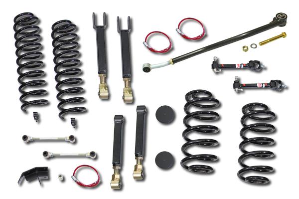 TJ 4.0 inch Entry Level Short Arm Lift Kit Clayton Offroad COR-2905010-COR