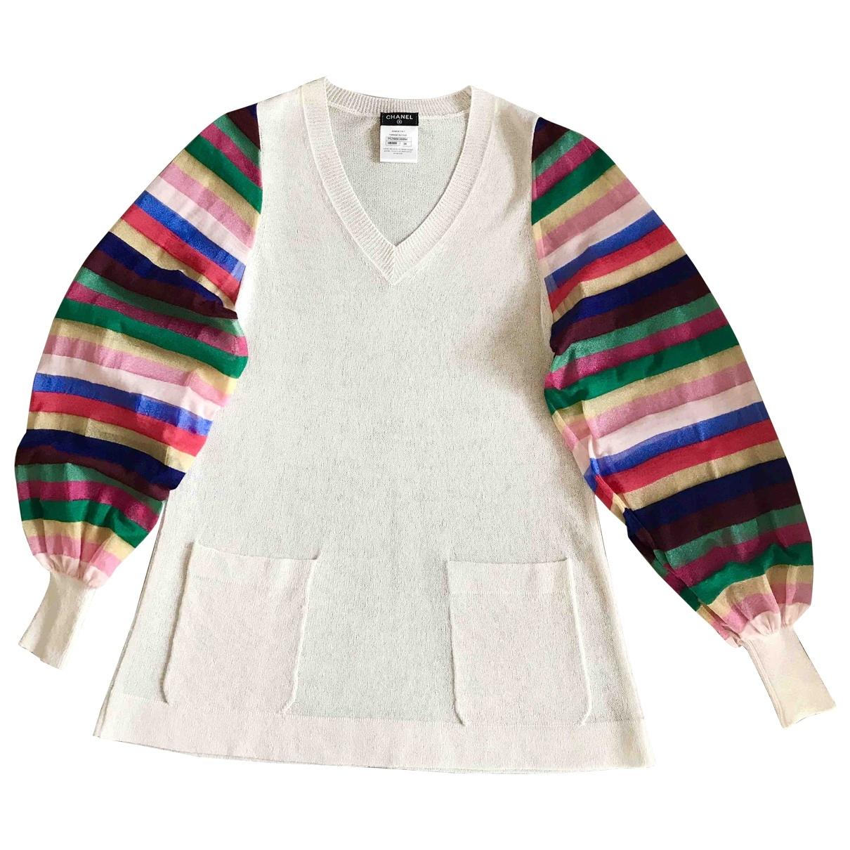 Chanel \N Multicolour Silk Knitwear for Women 36 FR