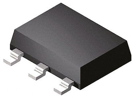 DiodesZetex Diodes Inc ZXTN2011GTA NPN Transistor, 6 A, 100 V, 3 + Tab-Pin SOT-223 (10)