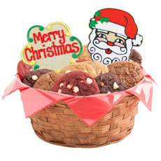 Merry Christmas Gift Basket | Christmas Cookie Basket