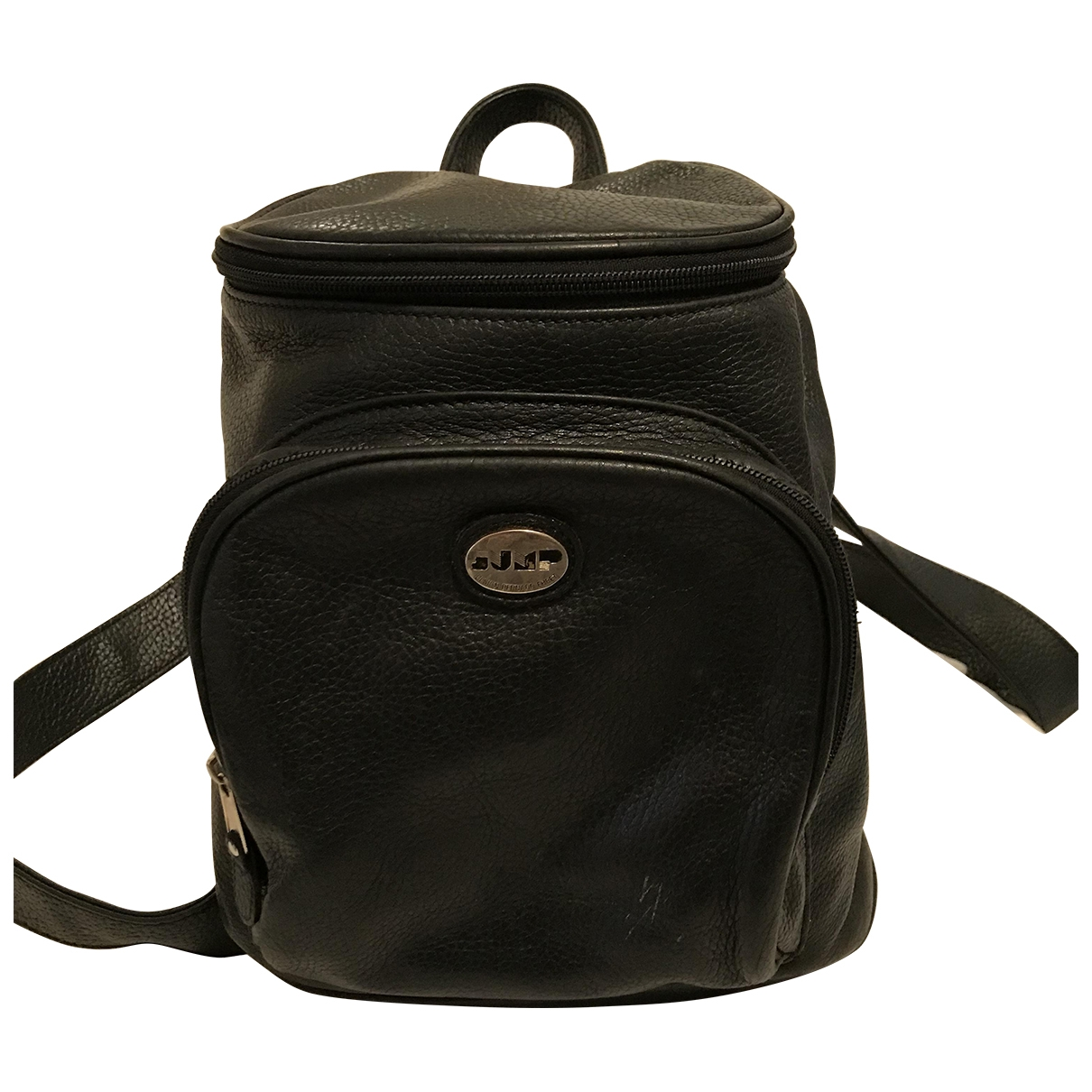 Non Signé / Unsigned \N Black Leather backpack for Women \N
