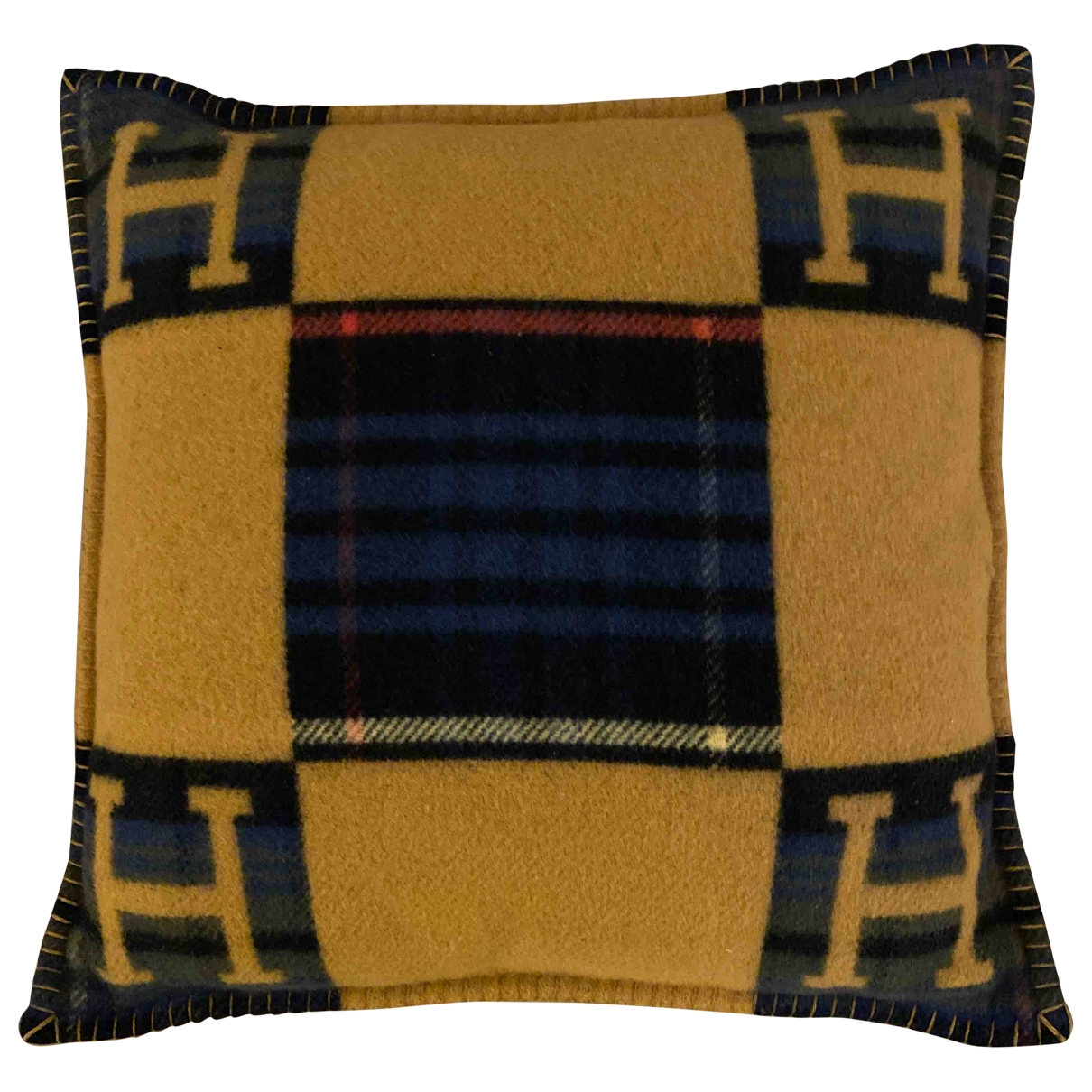 Hermès Avalon Multicolour Cashmere Textiles for Life & Living \N