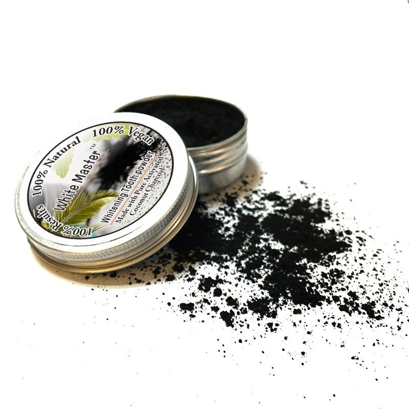 10g Activated Bamboo Charcoal Whitening Teeth Powder Cleaning Tartar Smoke Stain Powder Teeth Care