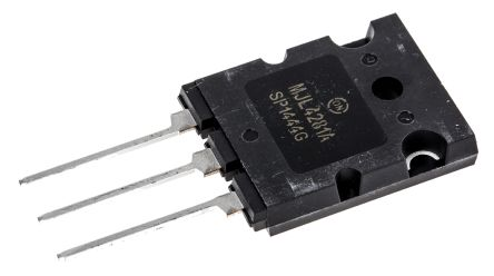 ON Semiconductor ON Semi MJL4281AG NPN Transistor, 15 A, 350 V, 3-Pin TO-3PBL