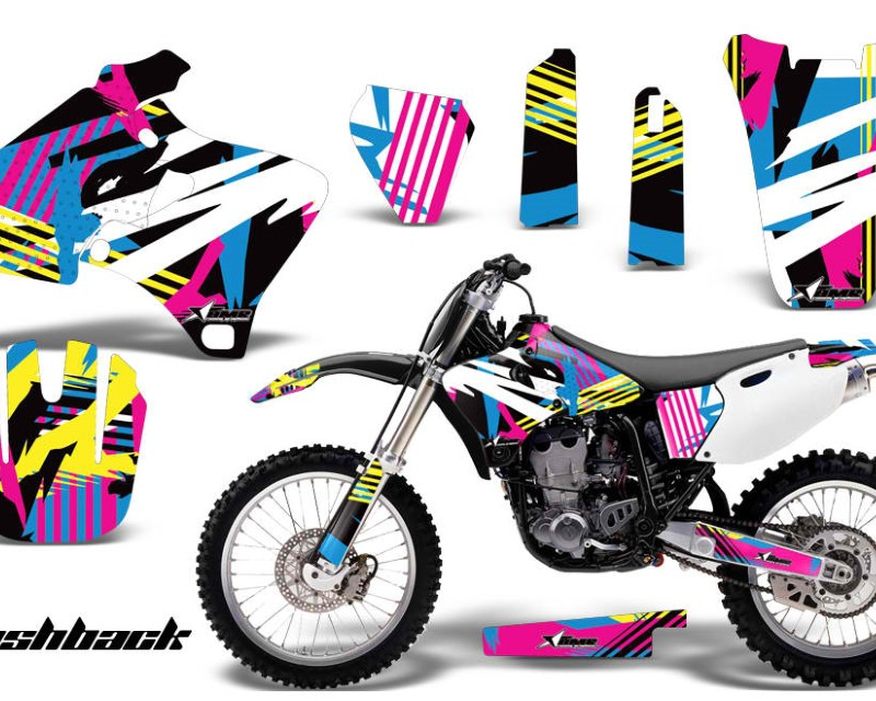 AMR Racing Dirt Bike Graphics Kit Decal Wrap For Yamaha YZ 250F/400F/426F 1998-2002áFLASHBACK