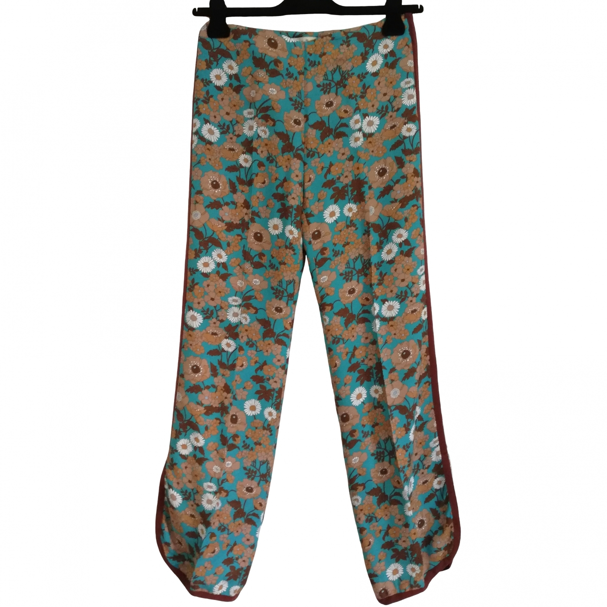 Mulberry \N Multicolour Trousers for Women 40 IT